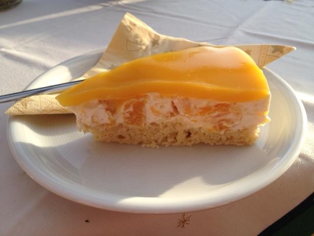 Pfirsich torte vegan