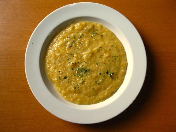 Steckrüben-Birnen-Suppe