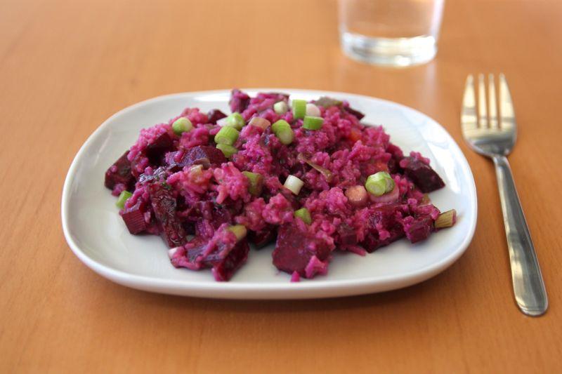 Rote Beete Salat mit Mango