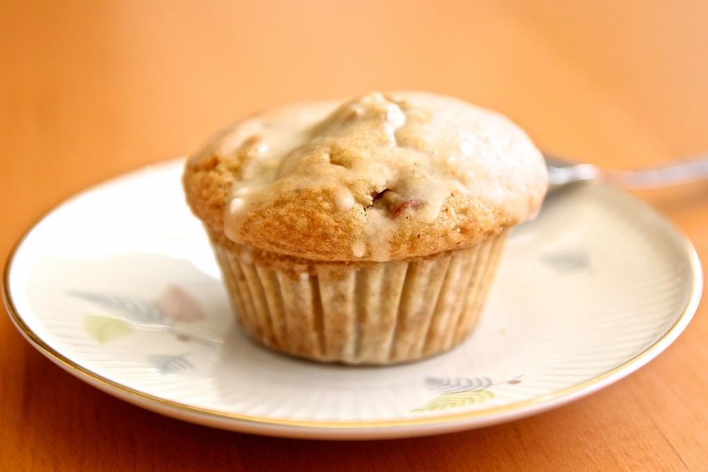 Limetten-Rhabarber-Muffin